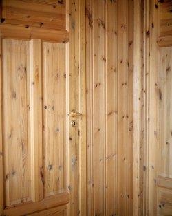 Pine wood interior