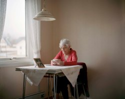 Magda (101) at home