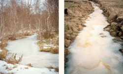 Frozen streams